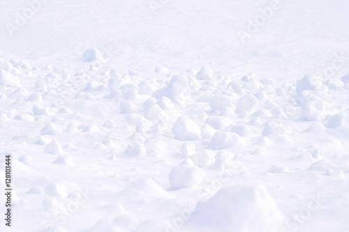 Obraz na plátně  雪景色