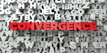 CONVERGENCE -  Red Text On Typ...