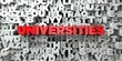 UNIVERSITIES - Red text on typography background - 3D rendered royalty free stock image. This image can be used for an online website banner ad or a print postcard.