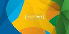 Rio 2016 Brazil Abstract Color...