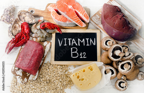 Sources of Vitamin B12
