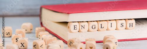 Vászonkép fremdsprache englisch lernen