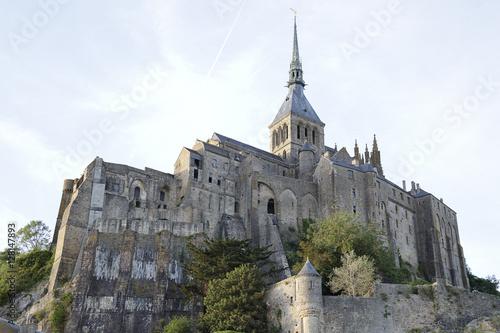 Abbey of le Mont Saint Michel, Normandy, France Fototapeta