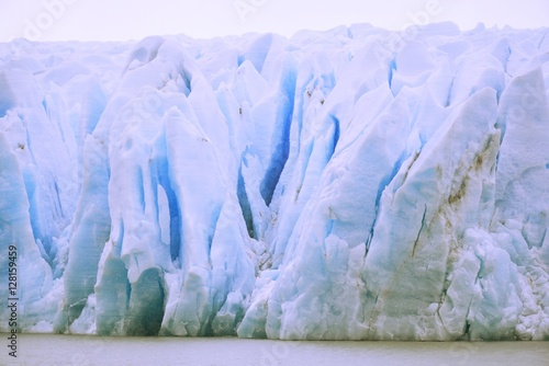 Poster Glaciers Amazing 12000 years old Glaciers in Patagonia Chile