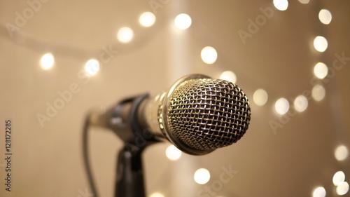Fotografie, Obraz  Microphone