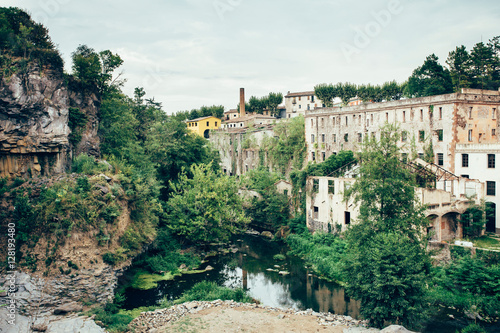 Beautiful landscape of Olot, Girona