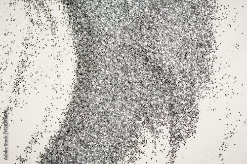 Fotografering  Silver glitter