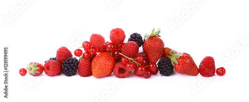 Keuken foto achterwand Vruchten Petits fruits rouges