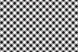 Czarny biały szachownica wyboru przekątnej bezszwowe tło - 128202080