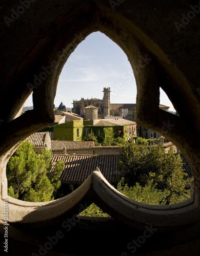 Cité de Carcassonne, Aude Canvas Print