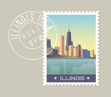 Illinois Postage Stamp Design....