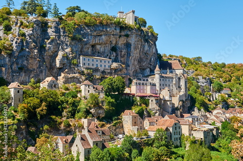 The ancient Citte of Rocamadour