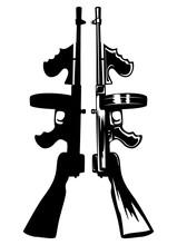 """Submachine Gun """"Tommy Gun"""""""