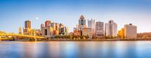 Long Exposure Of Pittsburgh Do...