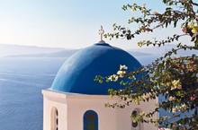 Greece. Santorini Island. Oia ...