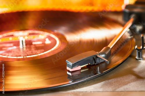 Fotografía  Vintage record player
