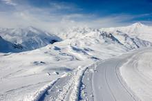 Alpine Winter Mountain Landsca...