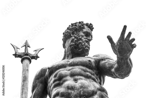 Neptune statue Canvas Print