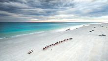 Broome, Cable Beach From Above