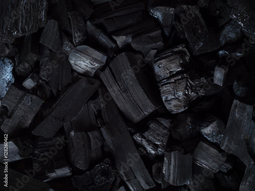 Fotomural charcoal, coal background