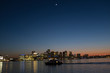Satellite over Boston