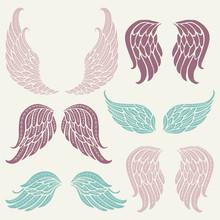 Set Of Angel Wings