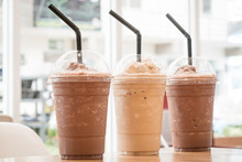 Chocolate Frappe And Frappucci...