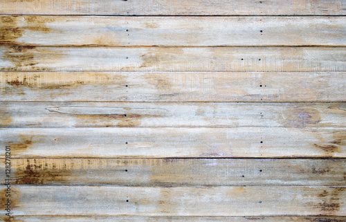 Türaufkleber Holz Wooden wall texture and wood background photo