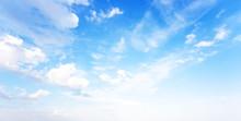 Blue Sky Natural Banner