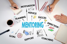 Mentoring Concept. The Meeting...