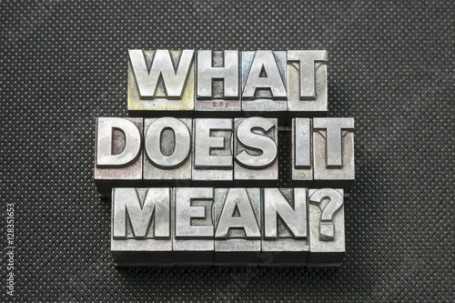 Photo what does it mean bm