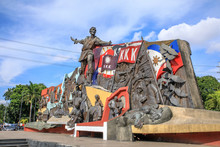 Katipunan (abbreviated To KKK) Monument In Manila, Philippines