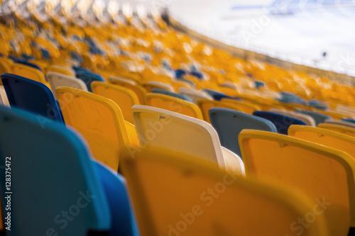 Foto op Plexiglas Stadion Seat for watch some sport o