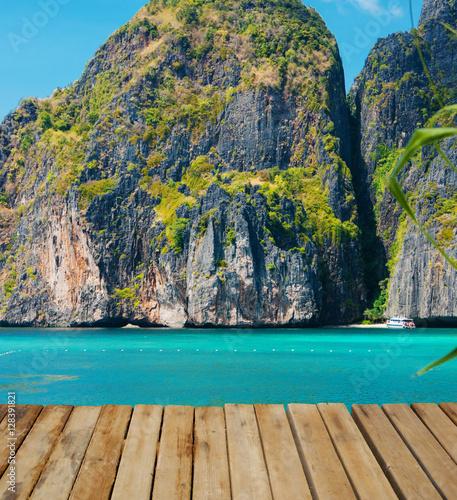 Maya bay of Phi-Phi island,Thailand #128391821