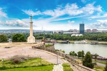 Pobednik Monument  In Belgrade