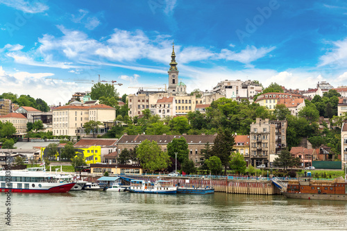 Photo Belgrade cityscape