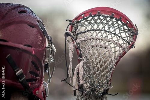 Fotografiet  Lacrosse - american high school sports themed photo