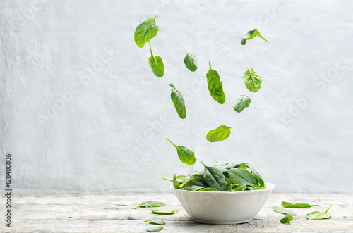 flying spinach