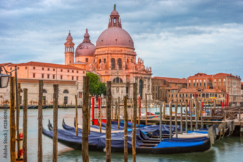 Fototapety, obrazy: Venice in the morning, city landscape, Italy