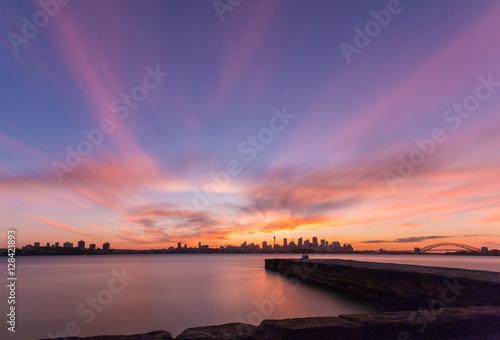 sunset Fototapet