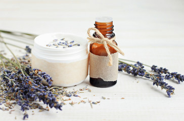 Lavender plant-based beauty...