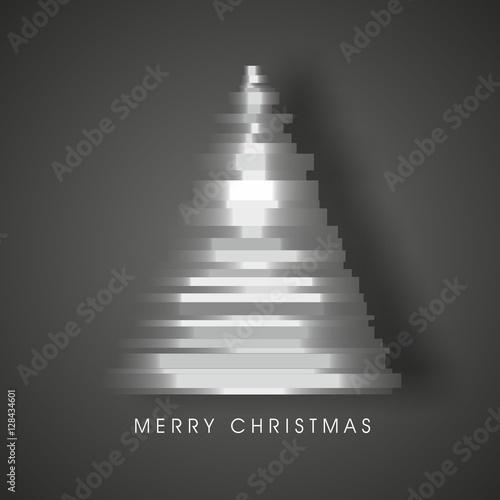 Valokuva  Weihnachtsbaum Tannenbaum Weihnachten - abstrakt - Merry Christmas - Vektor Graf