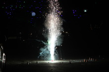 Fireworks Or Firecrackers Duri...