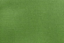 Textured Background Rough Fabric Of Green Lime Color