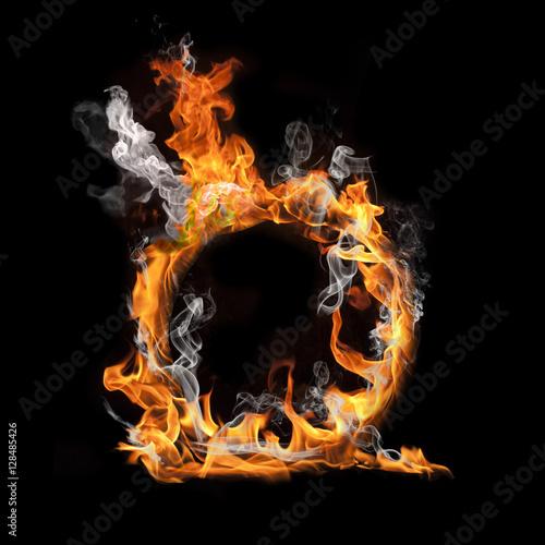 Fotografie, Obraz  cerchio di fuoco