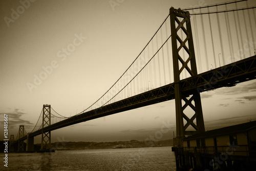Plakat Bay Bridge Dusk