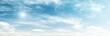 Leinwandbild Motiv Clouds in sky summer panorama background