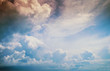 Leinwandbild Motiv Sky and clouds