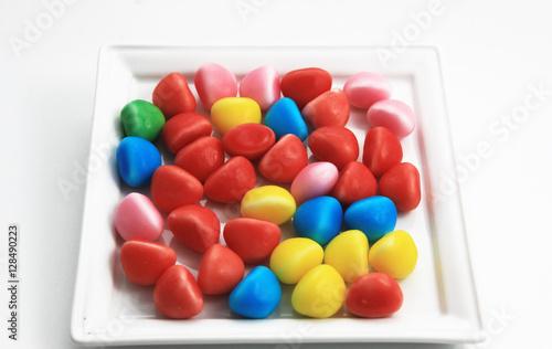 Foto op Aluminium Snoepjes délices des enfants