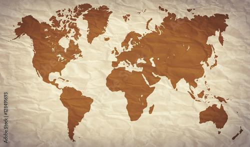 Acrylic Prints World Map World map